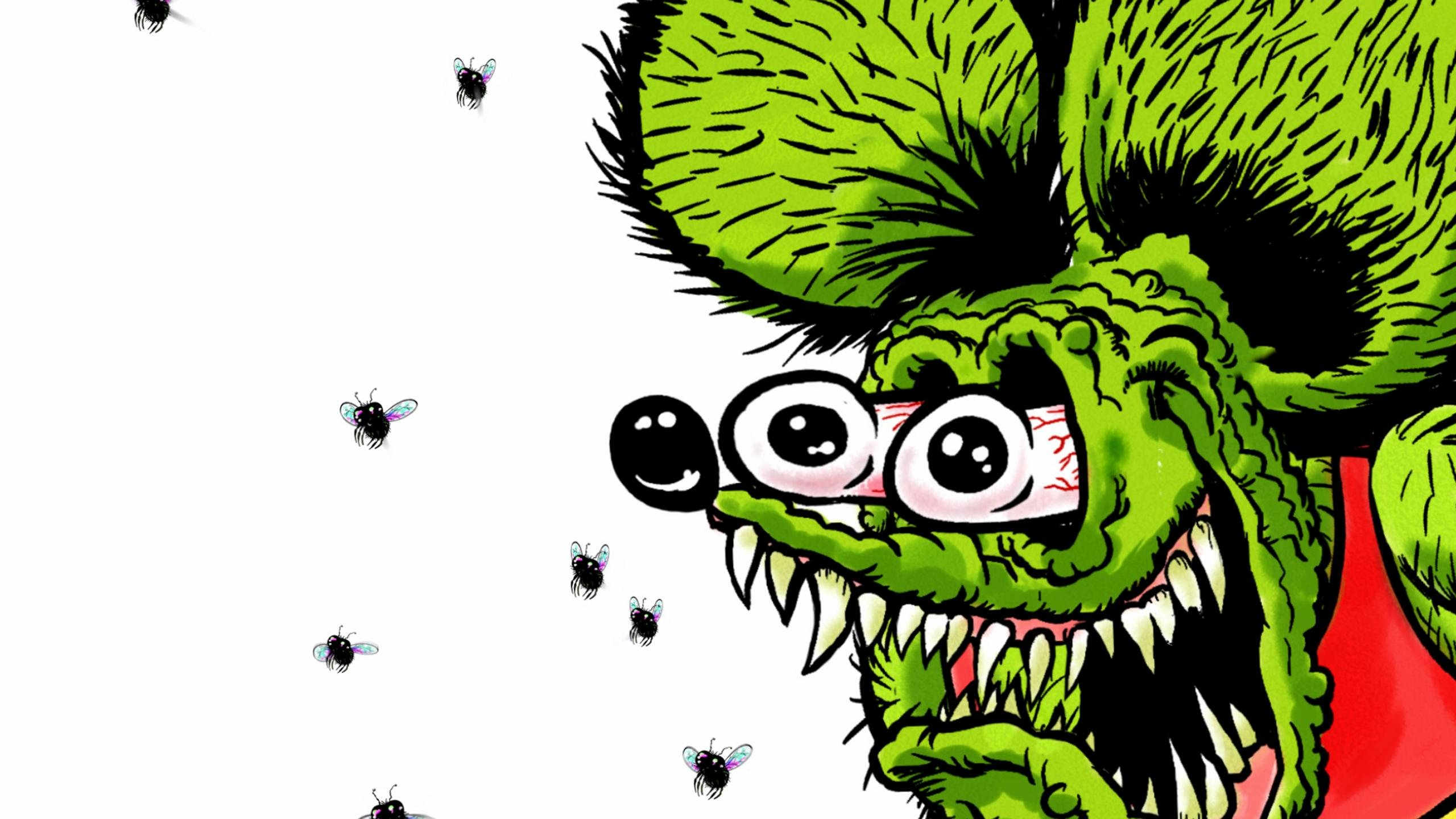 Free Rat Fink high quality wallpaper ID:100332 for hd 2560x1440 computer