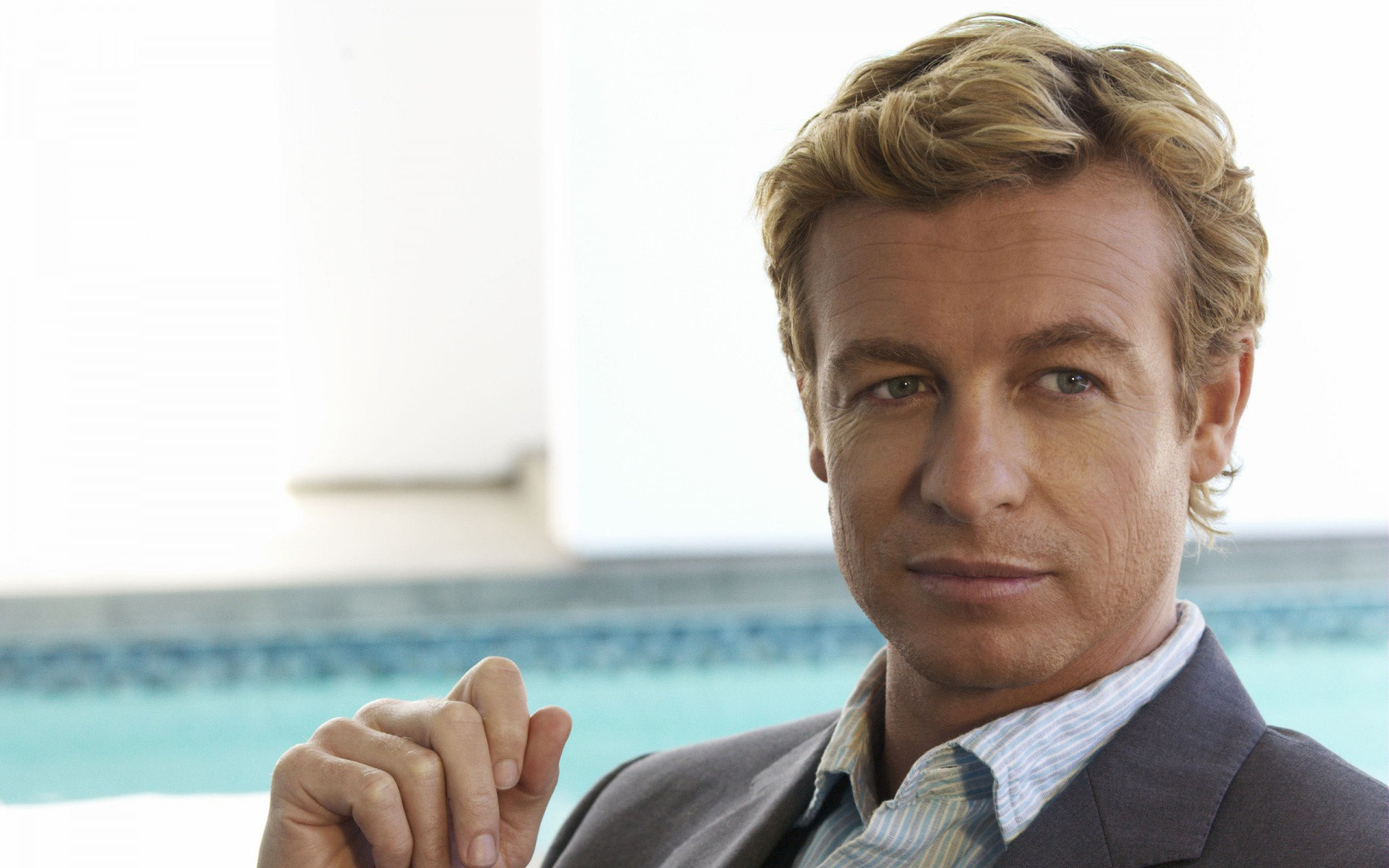 Download hd 1920x1200 Simon Baker computer background ID:131832 for free