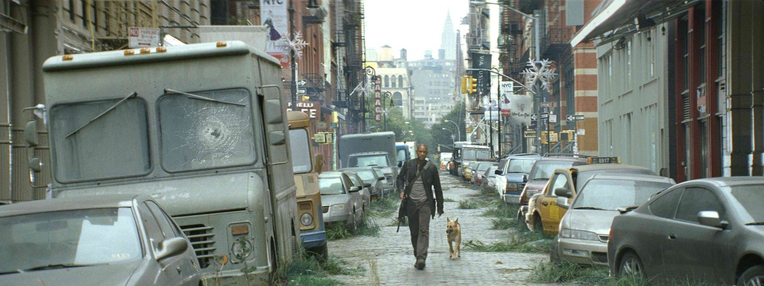 Download dual screen 2560x960 I Am Legend PC background ID:321536 for free