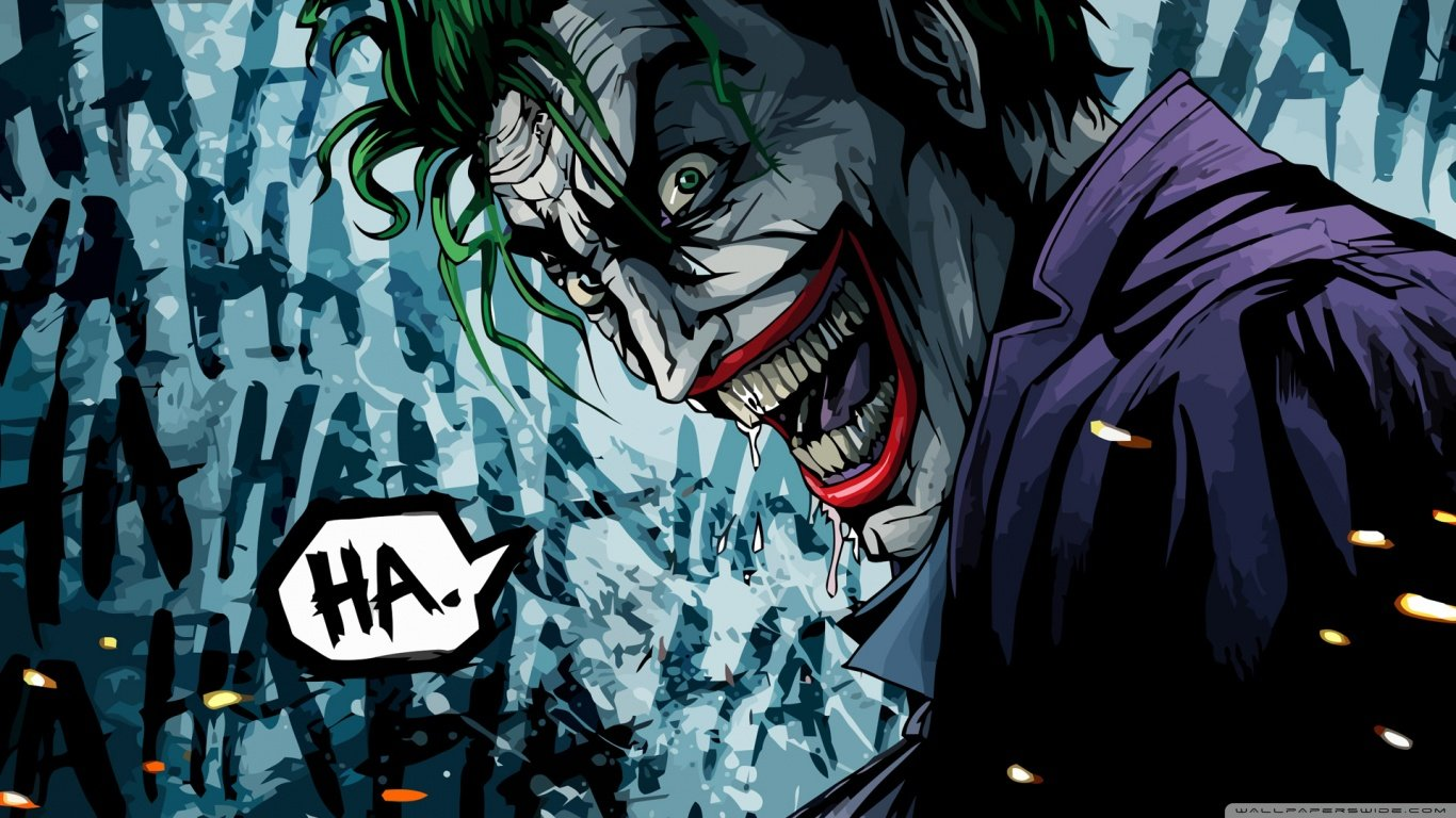 Download 1366x768 Laptop Joker Computer Background ID131174 For Free
