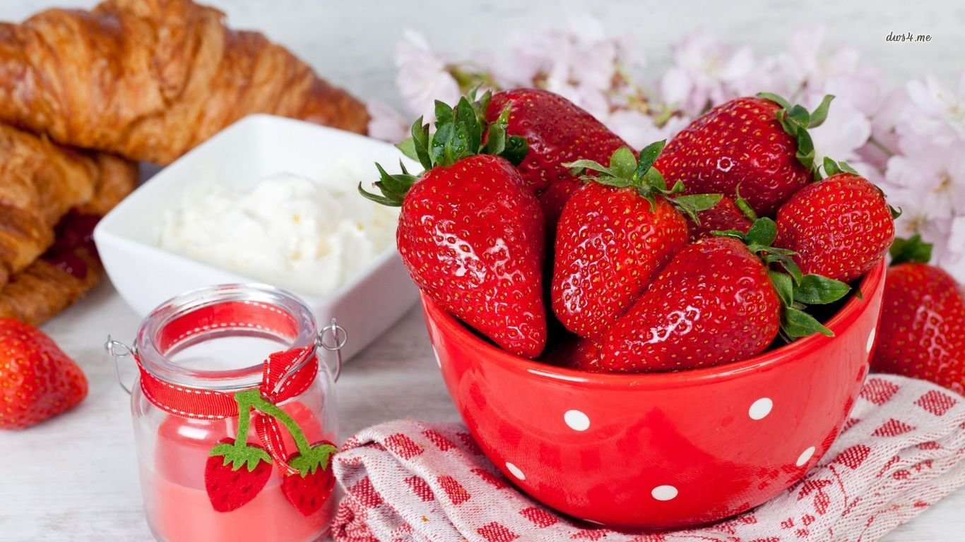 Awesome Strawberry free wallpaper ID:90752 for laptop computer