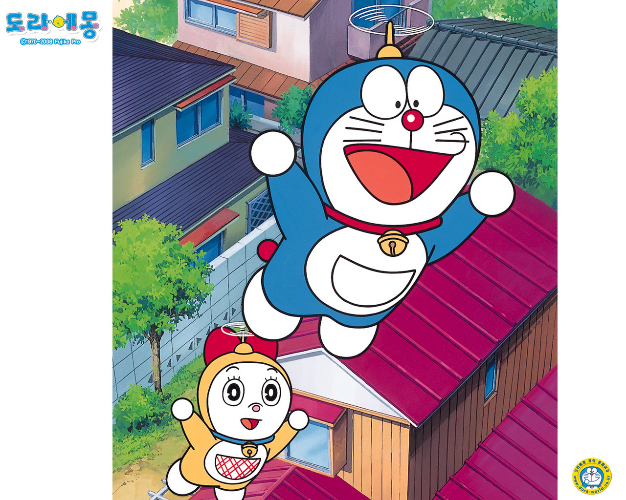 Download hd 1280x1024 Doraemon computer wallpaper ID:271487 for free