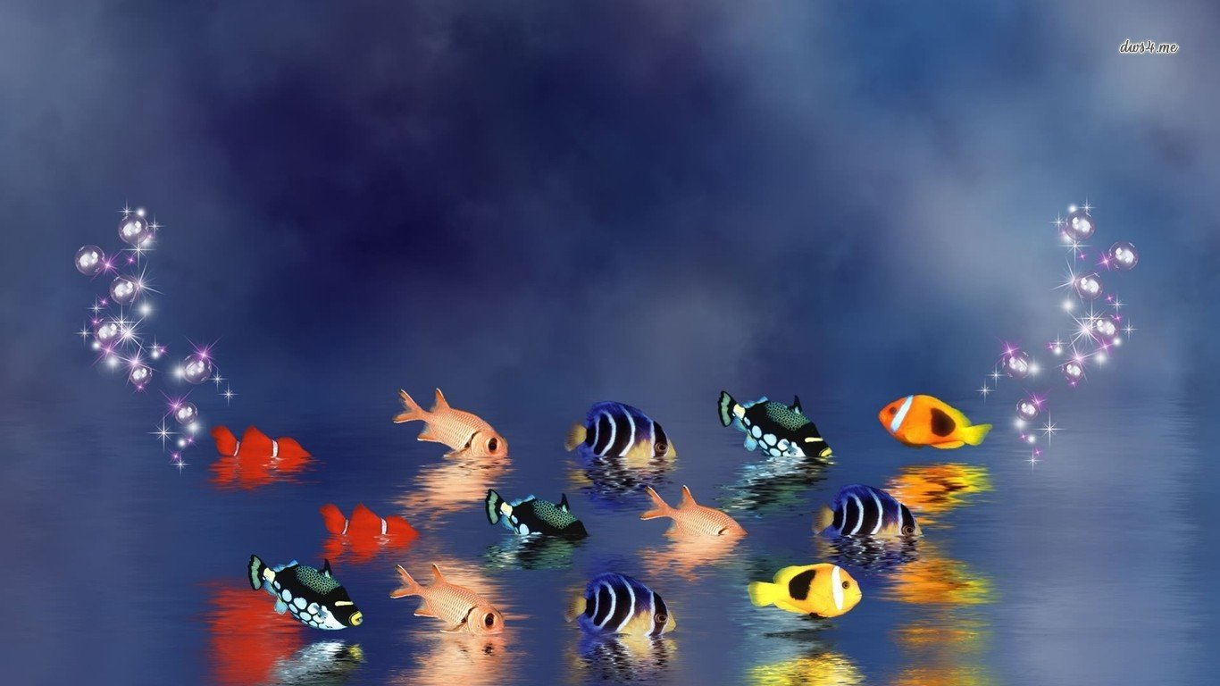 Free Fish high quality background ID:66141 for 1366x768 laptop desktop