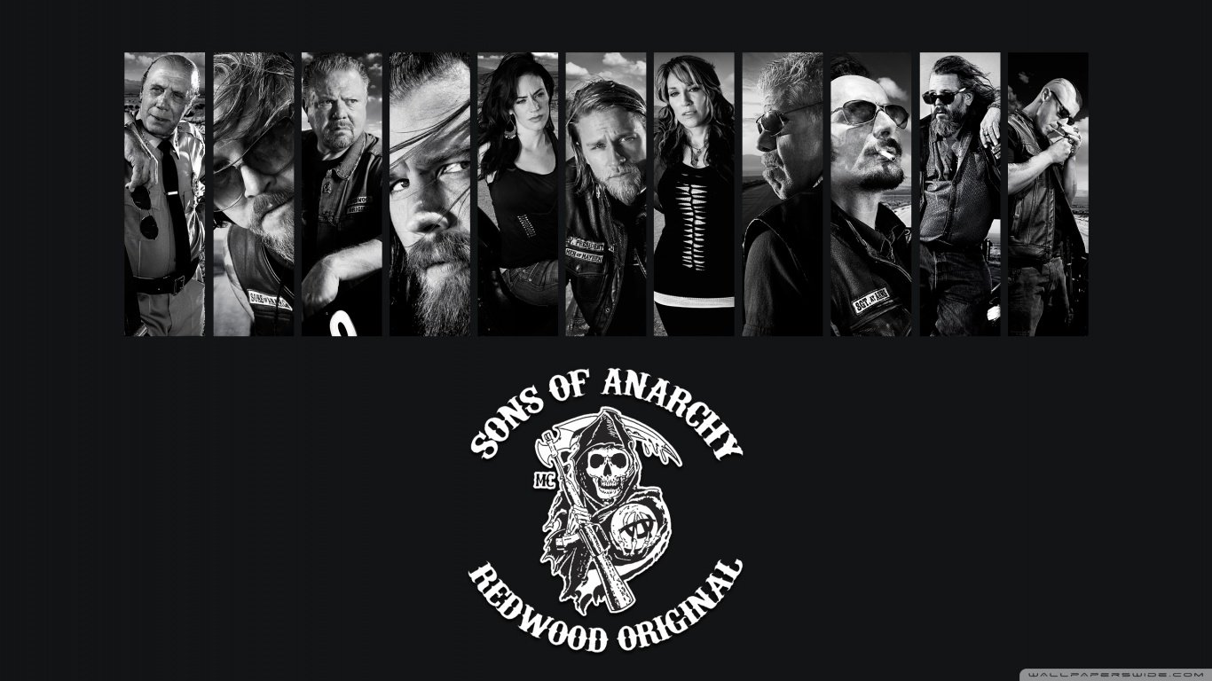 Sons Of Anarchy Wallpapers 1366x768 Laptop Desktop Backgrounds