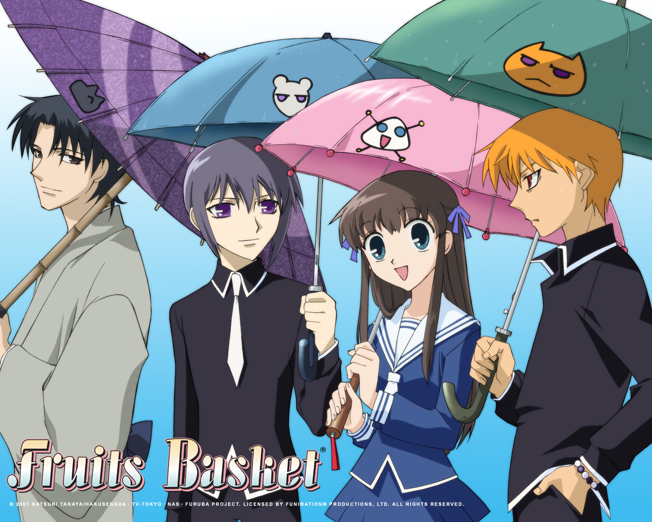 High resolution Fruits Basket hd 1280x1024 background ID:135438 for PC