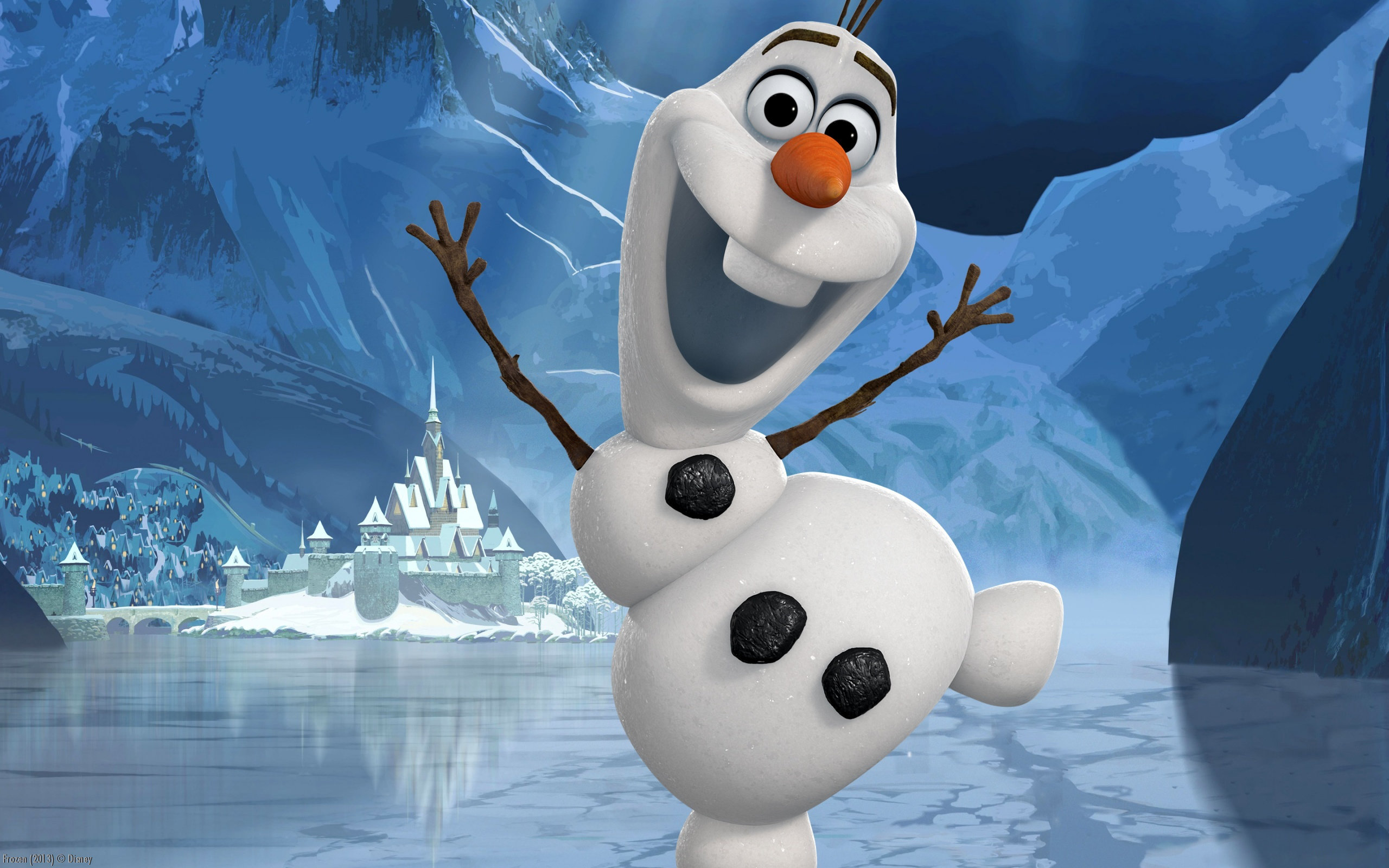 Awesome Olaf (Frozen) free background ID:380136 for hd 2560x1600 PC