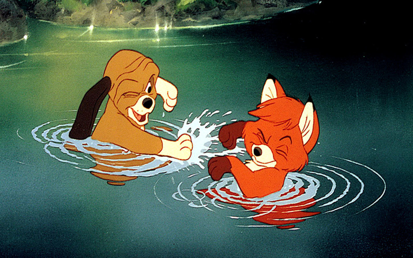The Fox And The Hound Wallpapers 1440x900 Desktop Backgrounds