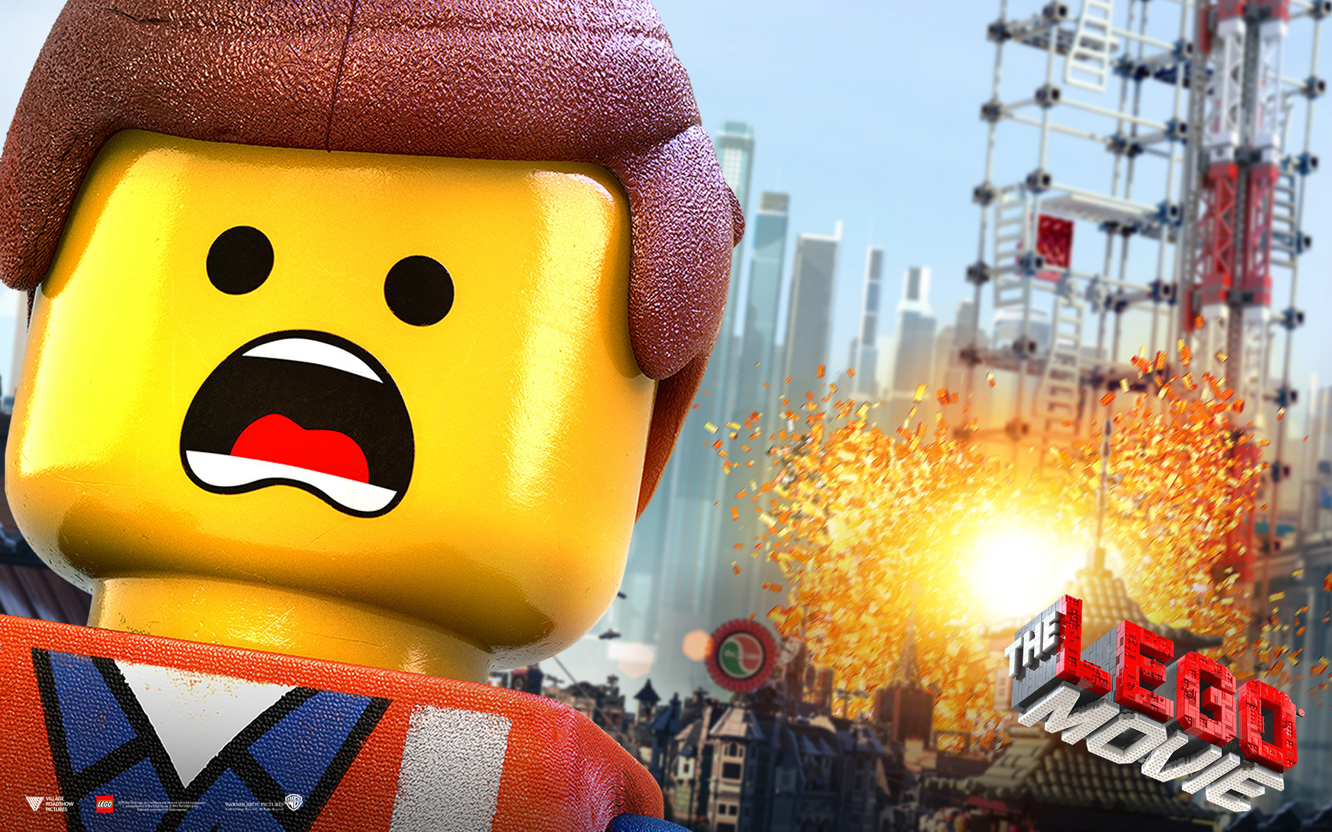 Download hd 1920x1200 The Lego Movie computer background ID:26439 for free