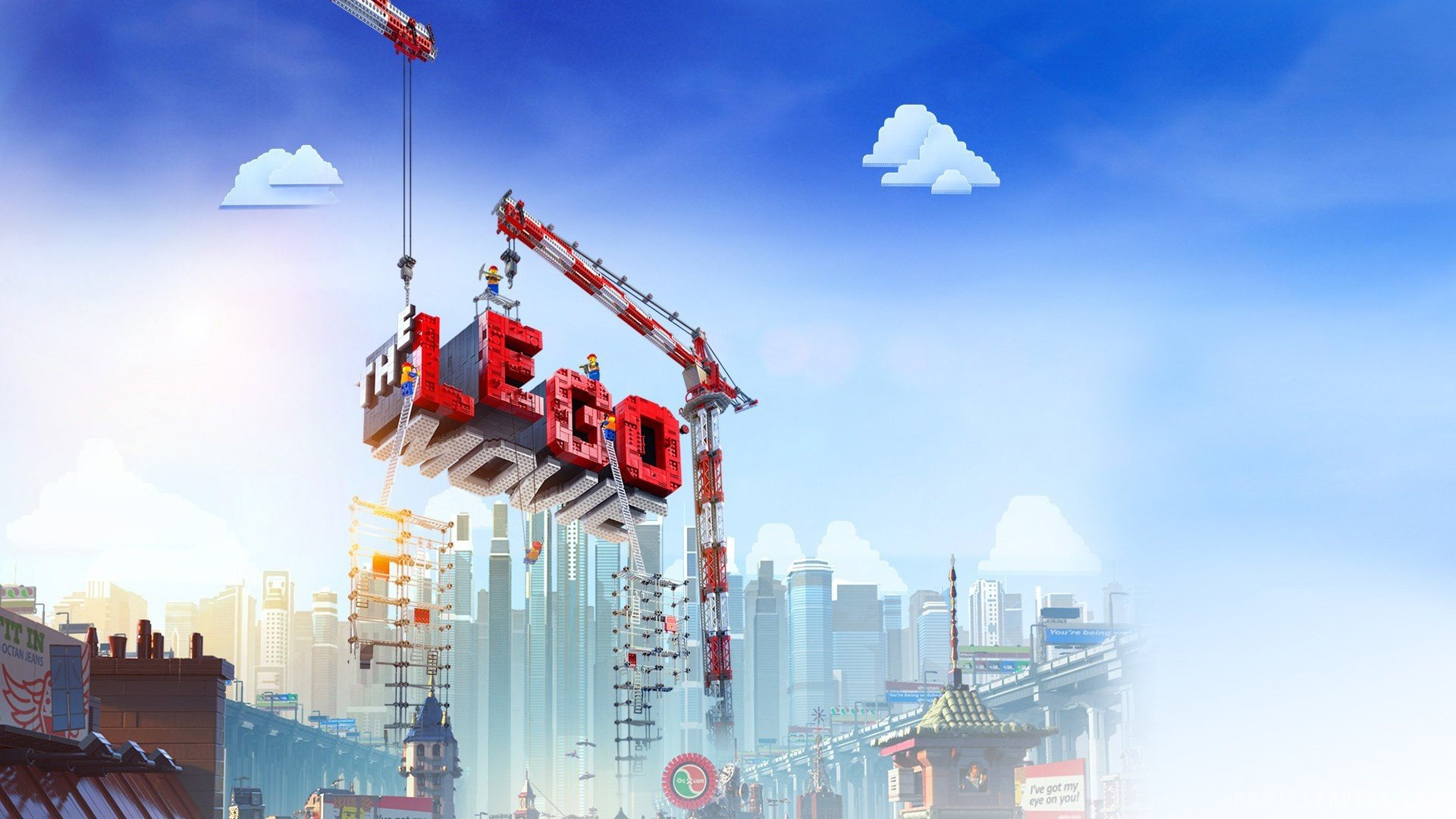 Download hd 1920x1080 The Lego Movie PC wallpaper ID:26467 for free