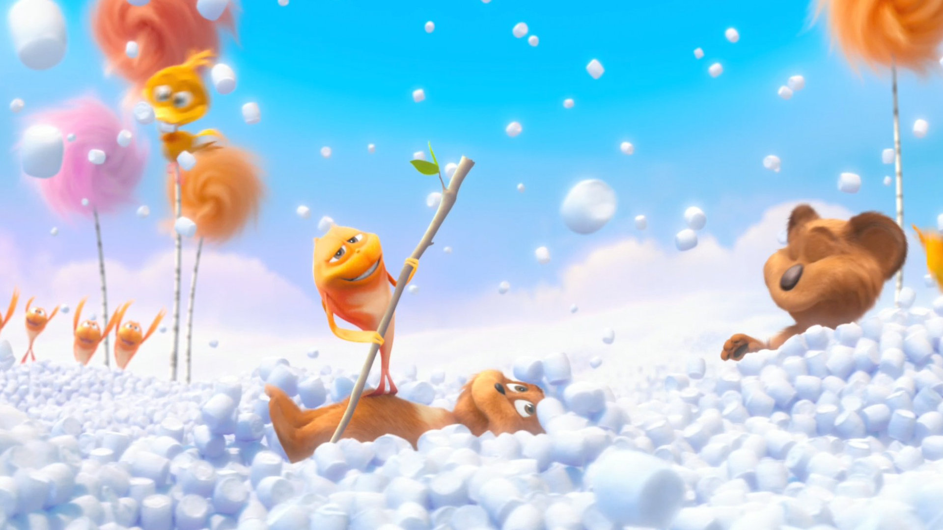 Awesome The Lorax Free Wallpaper Id354112 For Full Hd 1920x1080