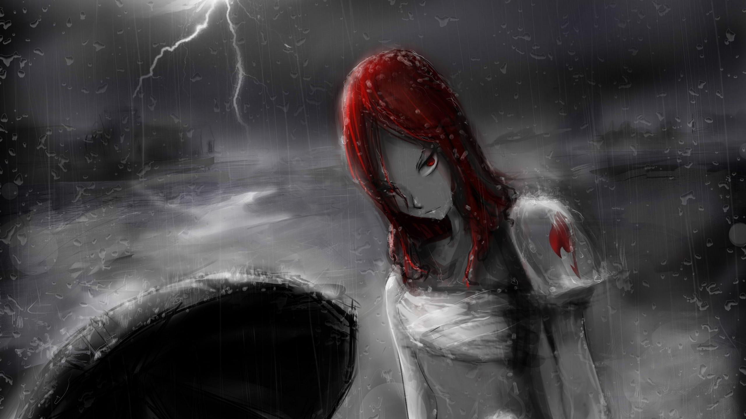 Free Erza Scarlet high quality wallpaper ID:41004 for hd 2560x1440 computer
