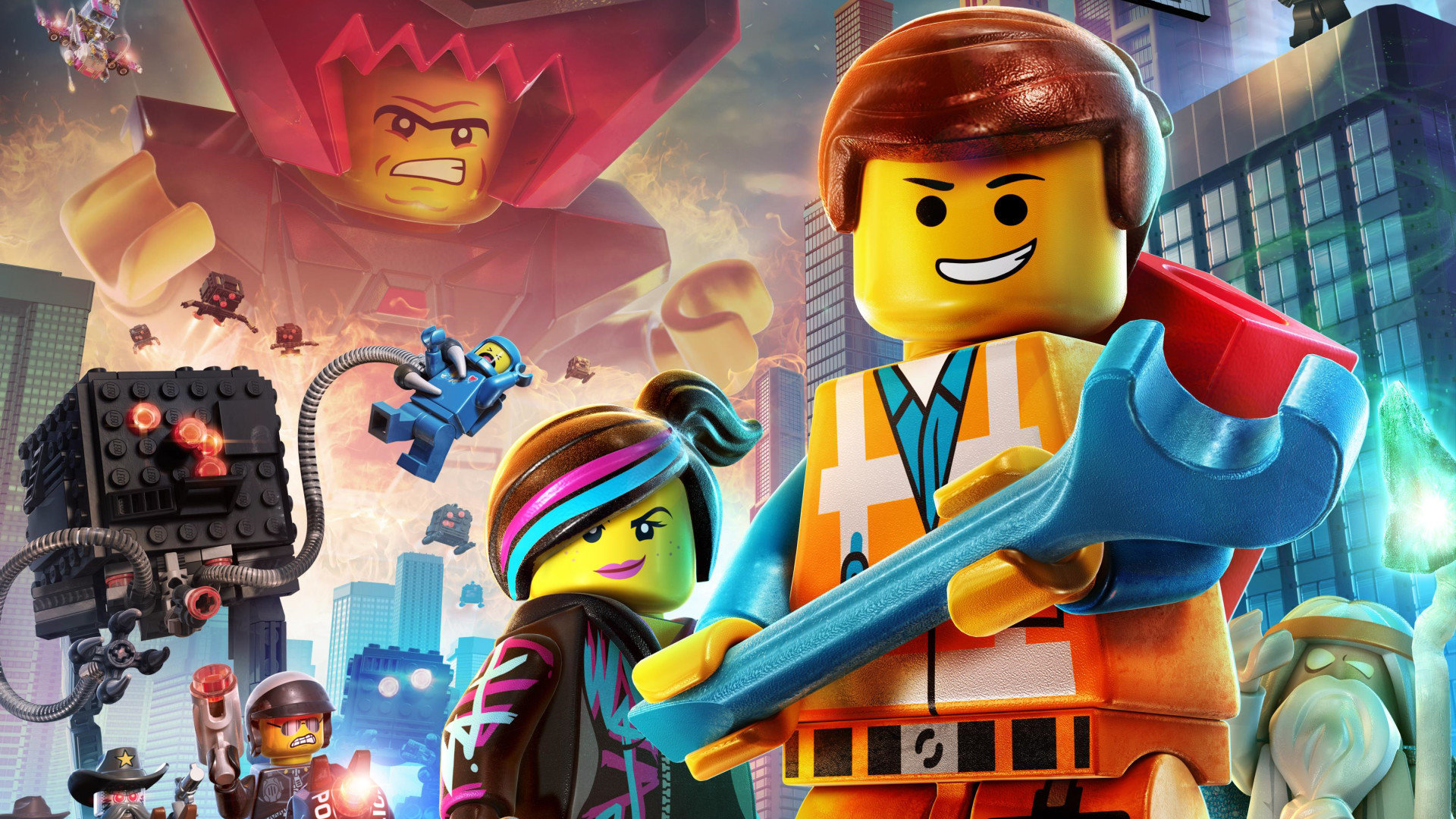 Free The LEGO Movie Videogame high quality wallpaper ID:233205 for hd 1920x1080 PC