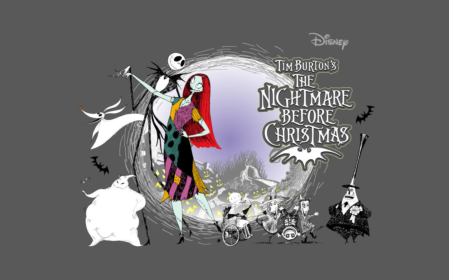 Download hd 1440x900 The Nightmare Before Christmas computer ...