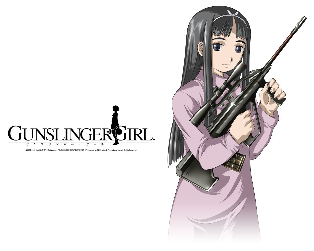 Best Gunslinger Girl background ID:357719 for High Resolution hd 1280x1024 PC
