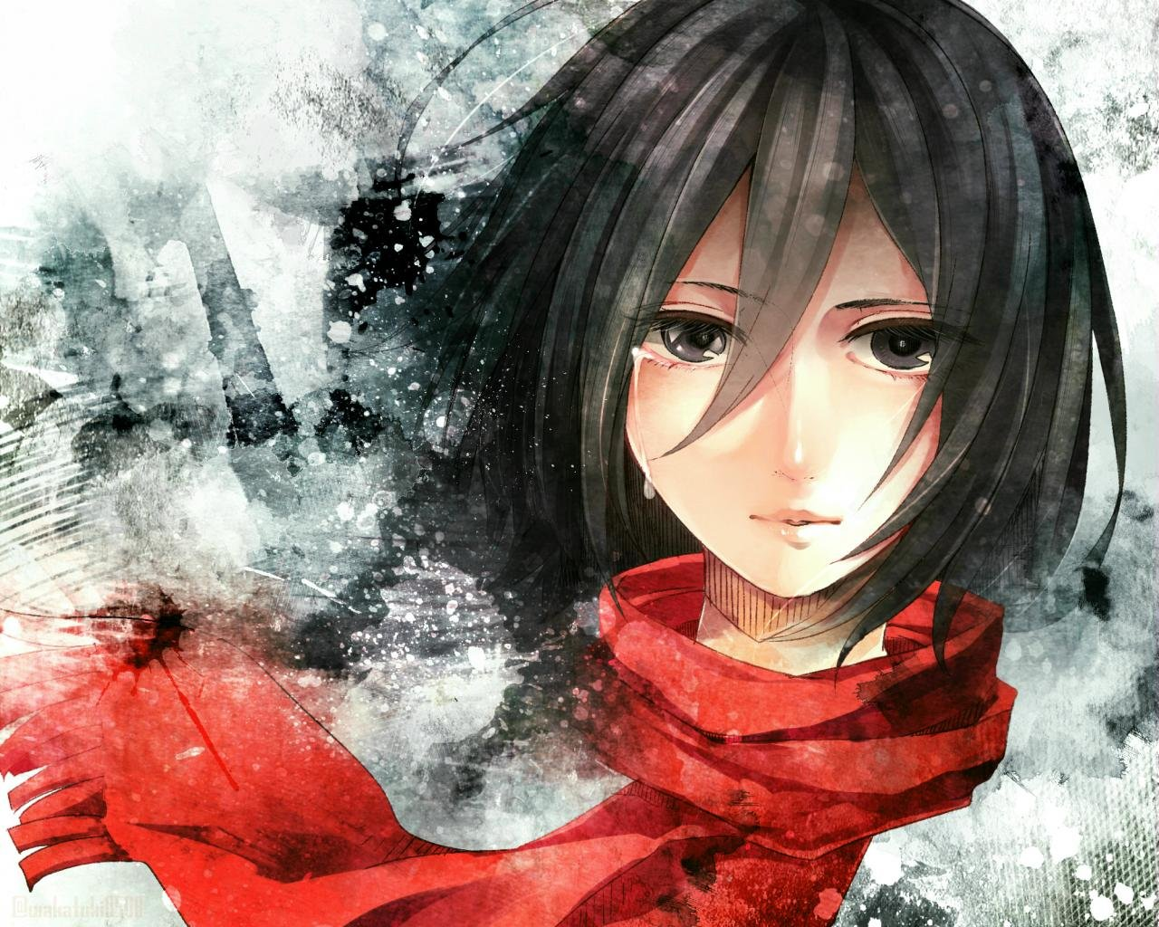 Free download Mikasa Ackerman background ID:206362 hd 1280x1024 for desktop