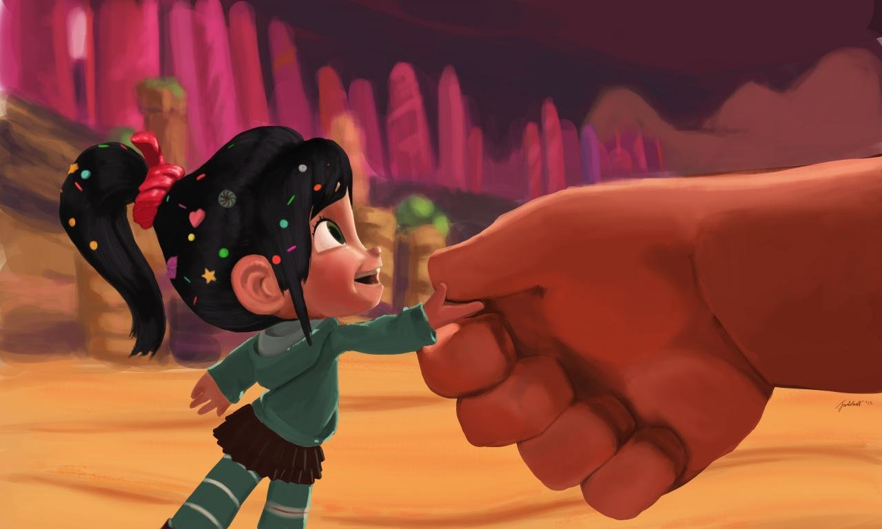 Free download Vanellope Von Schweetz wallpaper ID:395032 hd 1280x768 for computer