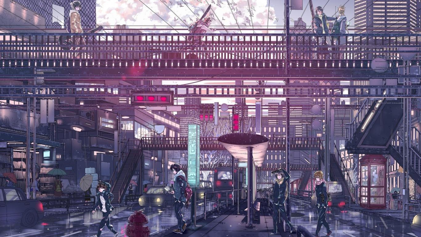 Cool Anime Wallpapers 1366x768 Laptop Desktop Backgrounds