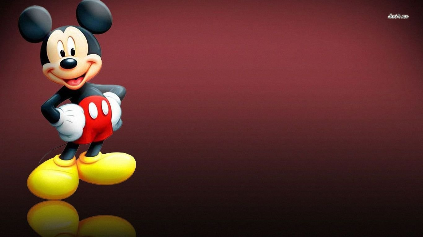 Mickey Mouse Wallpapers 1366x768 Laptop Desktop Backgrounds