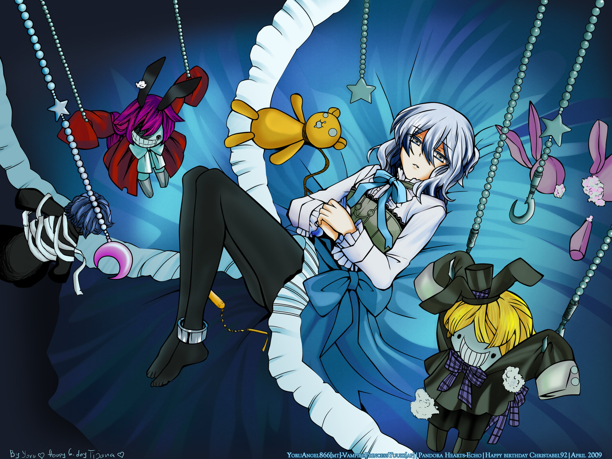 High resolution Pandora Hearts hd 2048x1536 background ID:48969 for PC