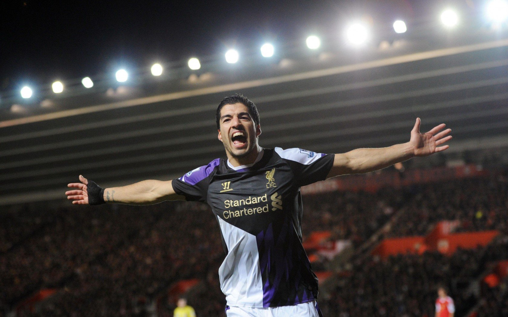Download hd 1680x1050 Luis Suarez computer background ID:83665 for free