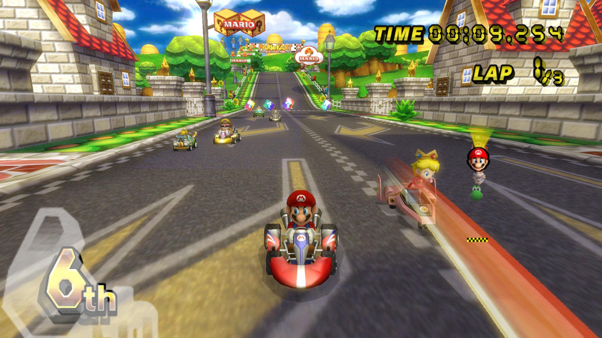 Mario Kart Wii Wallpapers 1920x1080 Full Hd 1080p Desktop