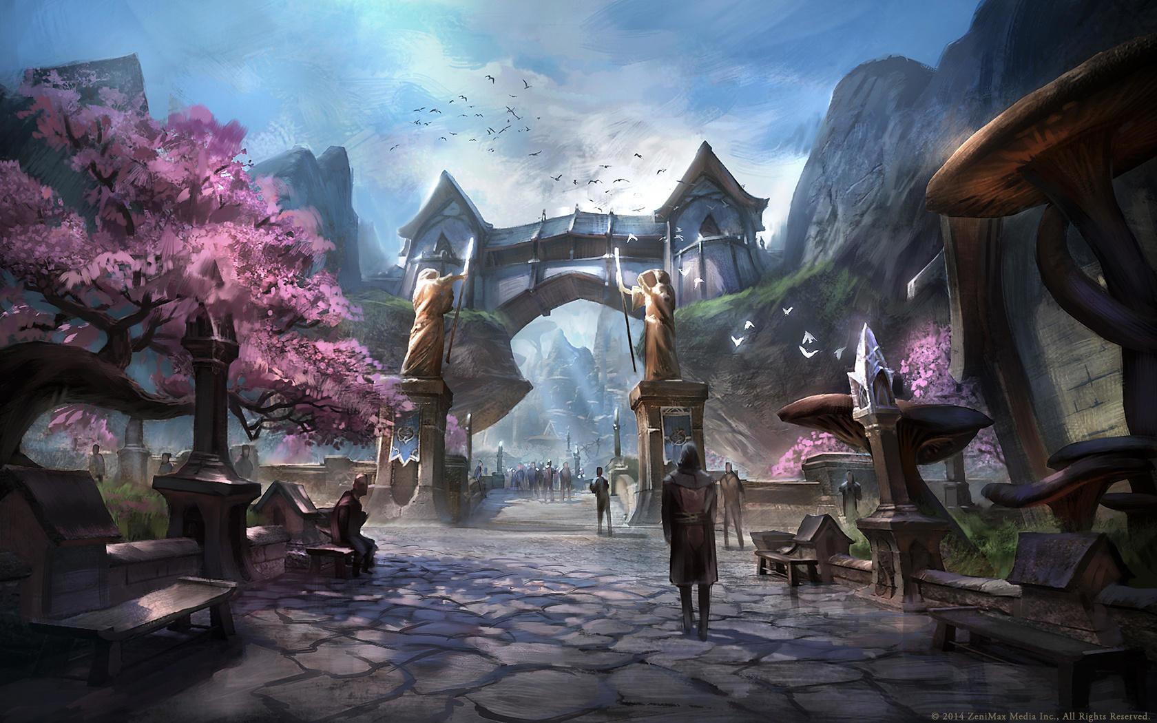 Hd Desktop Backgrounds 1680x1050: The Elder Scrolls Online Wallpapers 1680x1050 Desktop