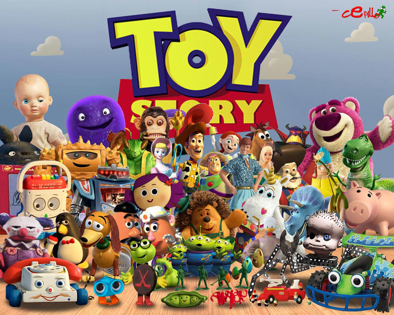 awesome toy story free background id 166263 for hd 1280x1024 desktop