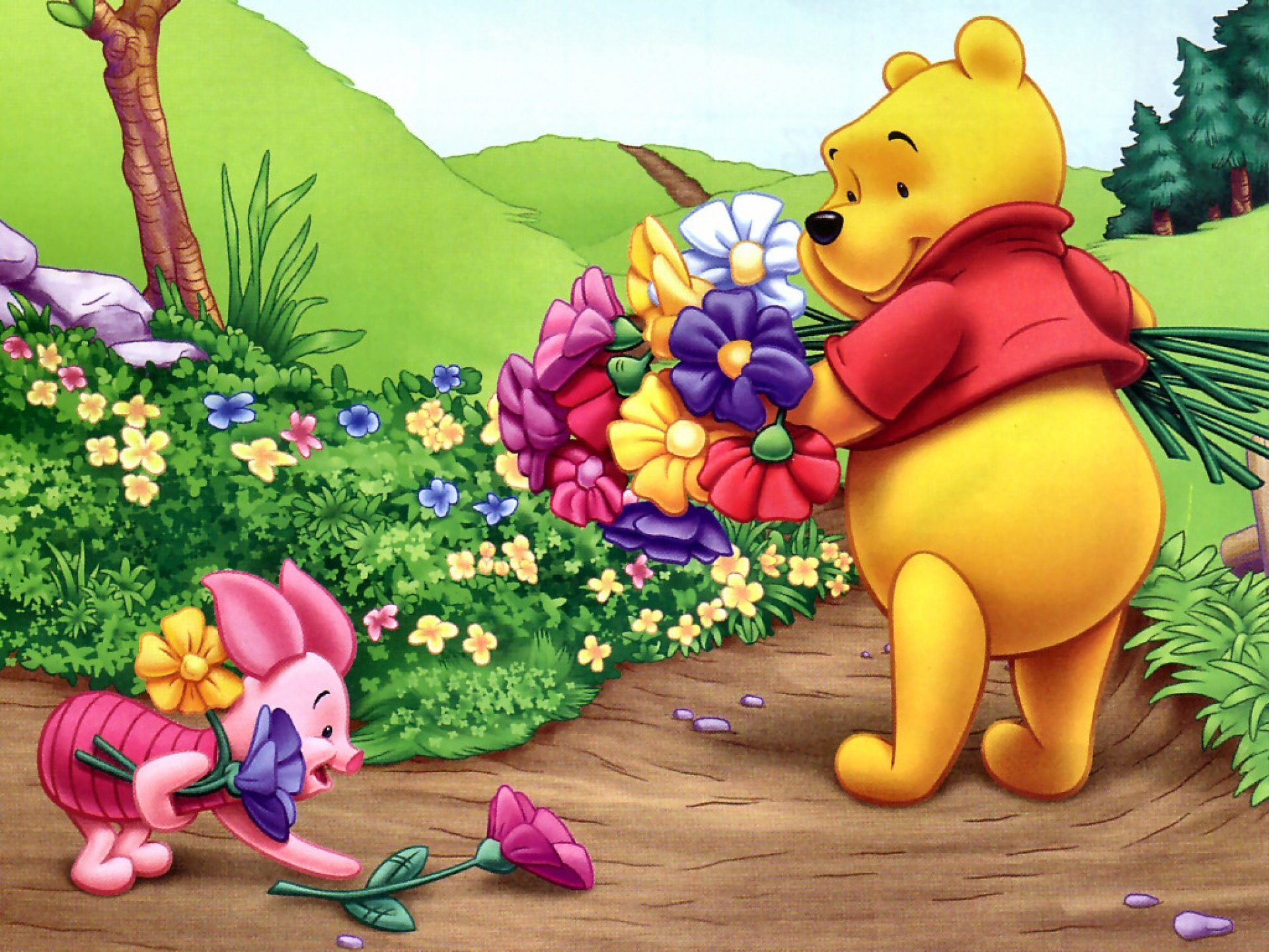 Best Winnie The Pooh wallpaper ID:74407 for High Resolution hd 1920x1440 desktop