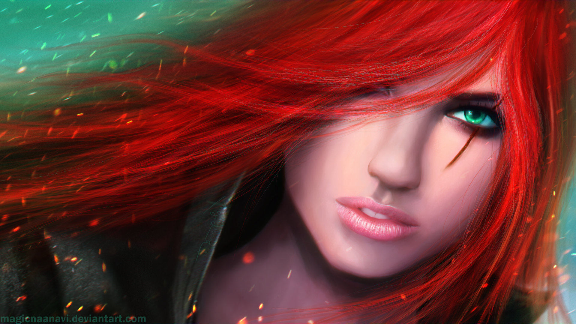 Best Katarina (League Of Legends) background ID:170876 for High Resolution hd 1920x1080 PC