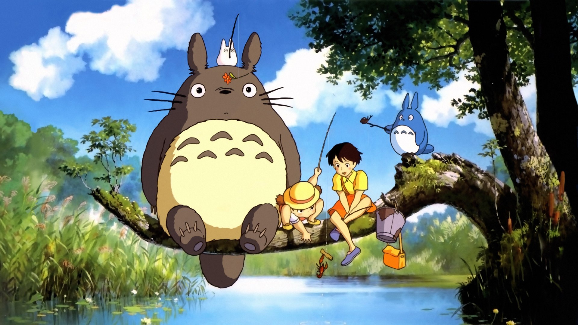 Download full hd 1080p My Neighbor Totoro desktop background ID:259318 for free