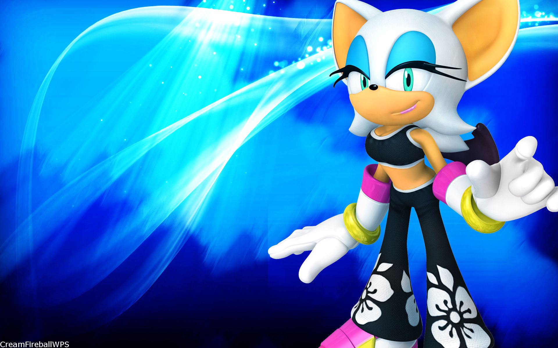 Rouge The Bat Wallpapers Hd For Desktop Backgrounds
