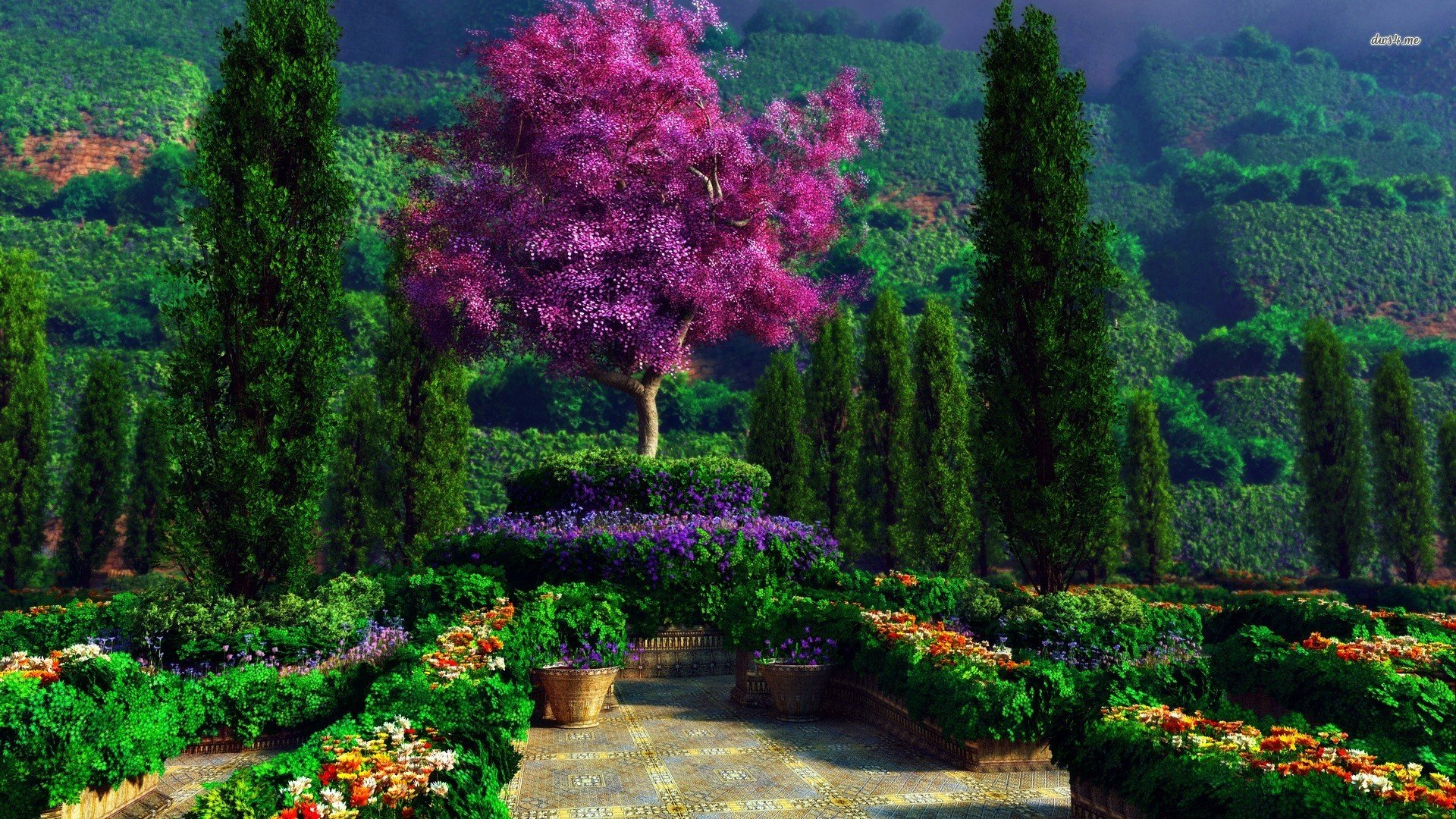 Garden Wallpapers 1920x1080 Full Hd 1080p Desktop Backgrounds