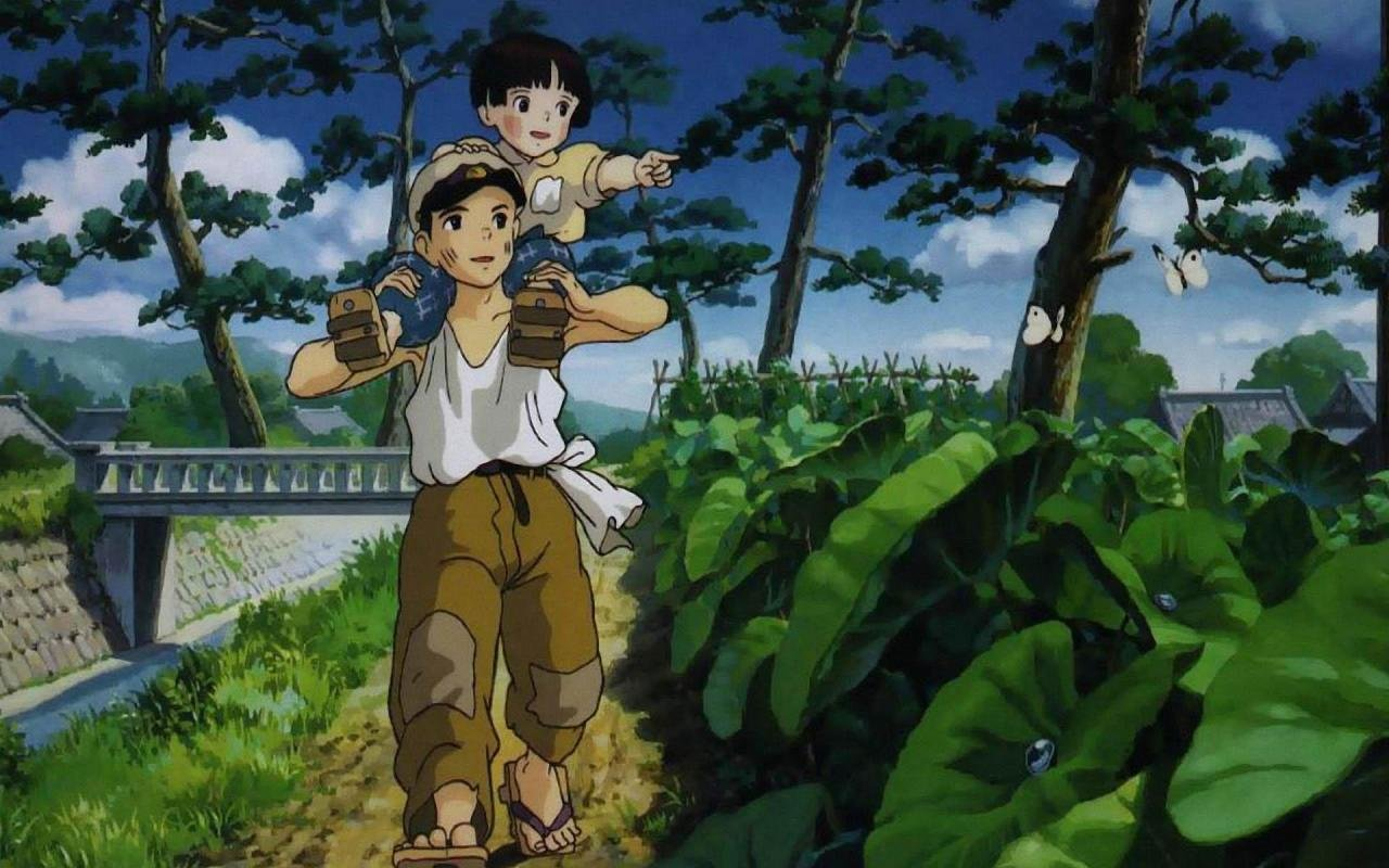 Free download Grave Of The Fireflies background ID:241878 hd 1280x800 for computer
