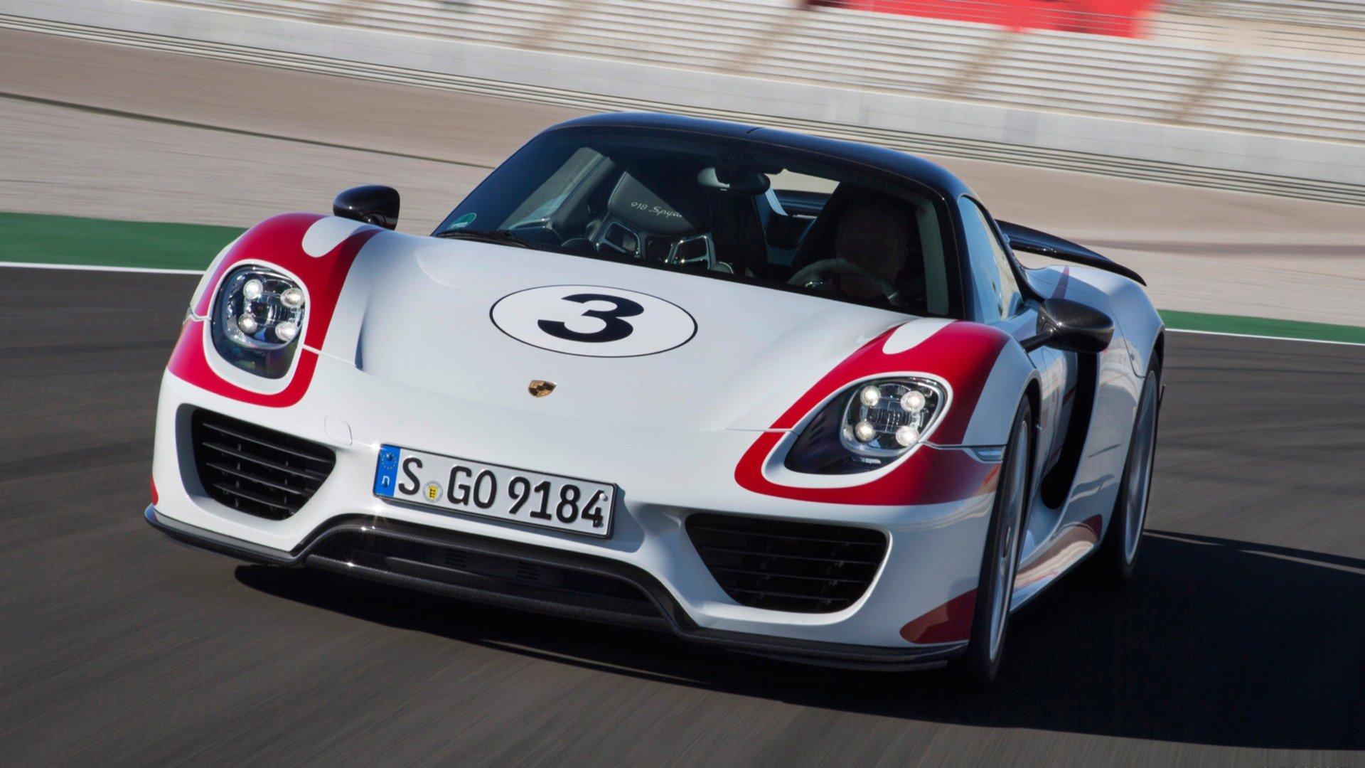 Porsche 918 Spyder Wallpapers Hd For Desktop Backgrounds