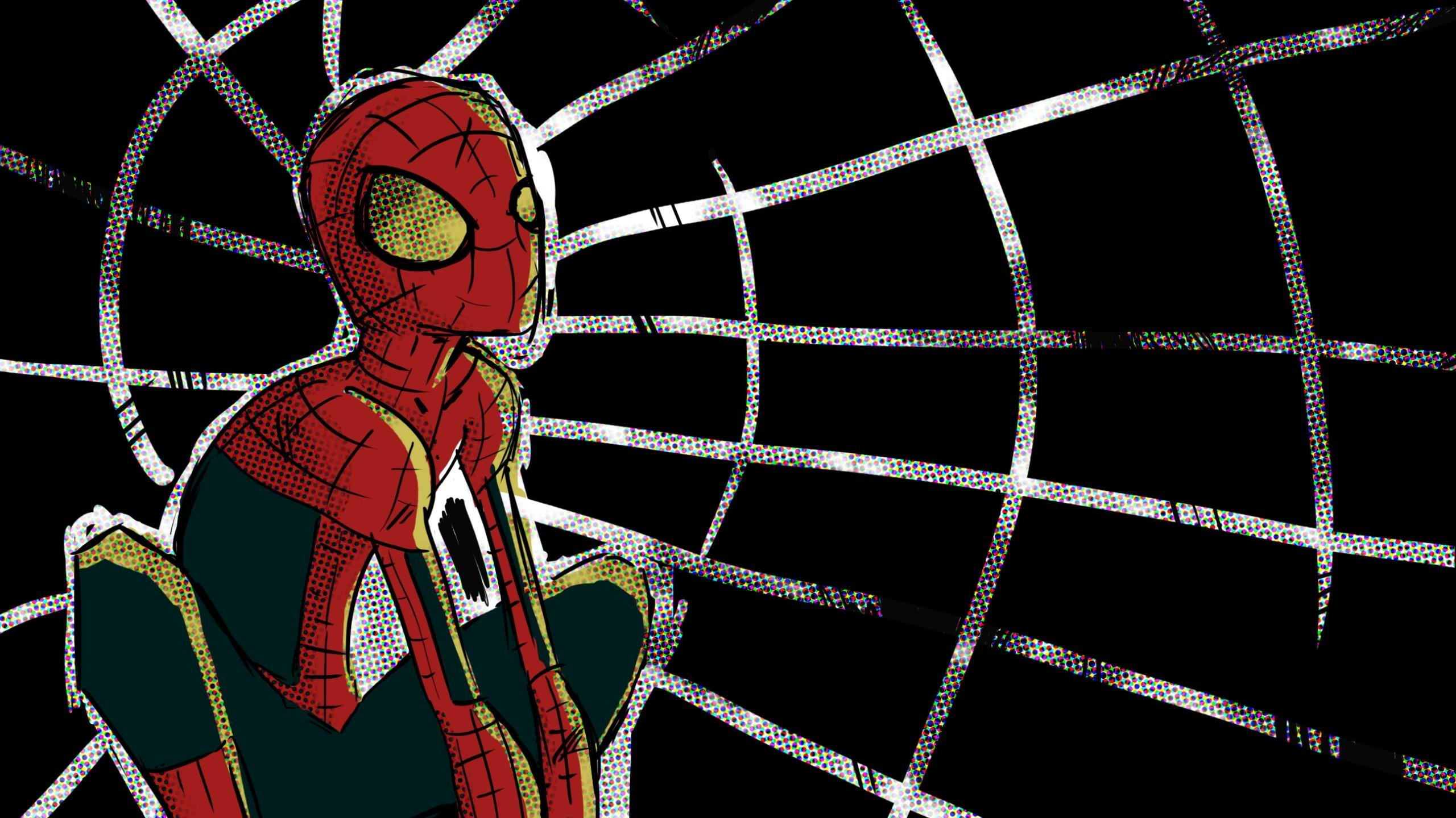 Download Hd 2560x1440 Spider Man Computer Wallpaper Id 104620 For Free