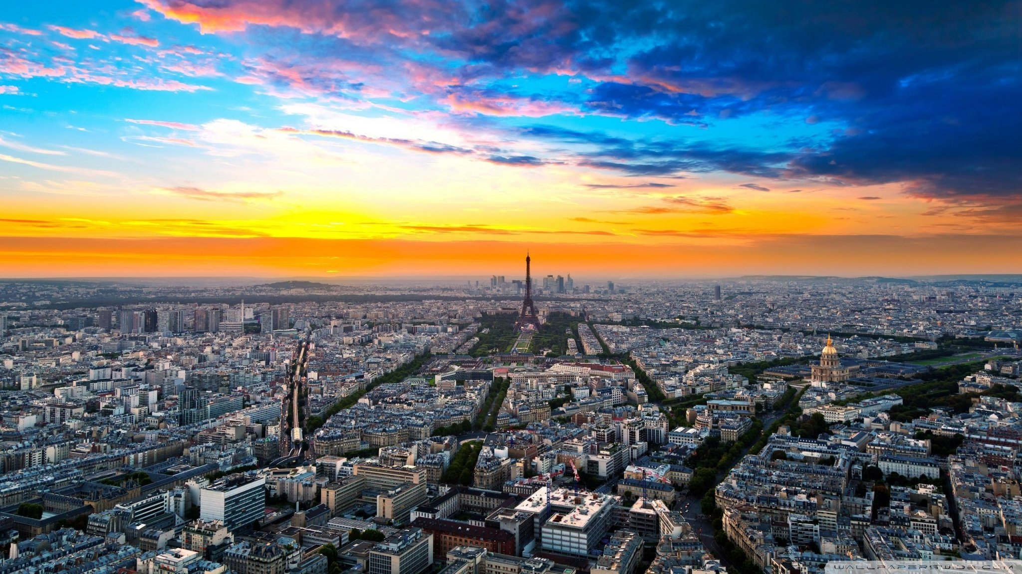 Free Paris high quality wallpaper ID:477266 for hd 2048x1152 desktop