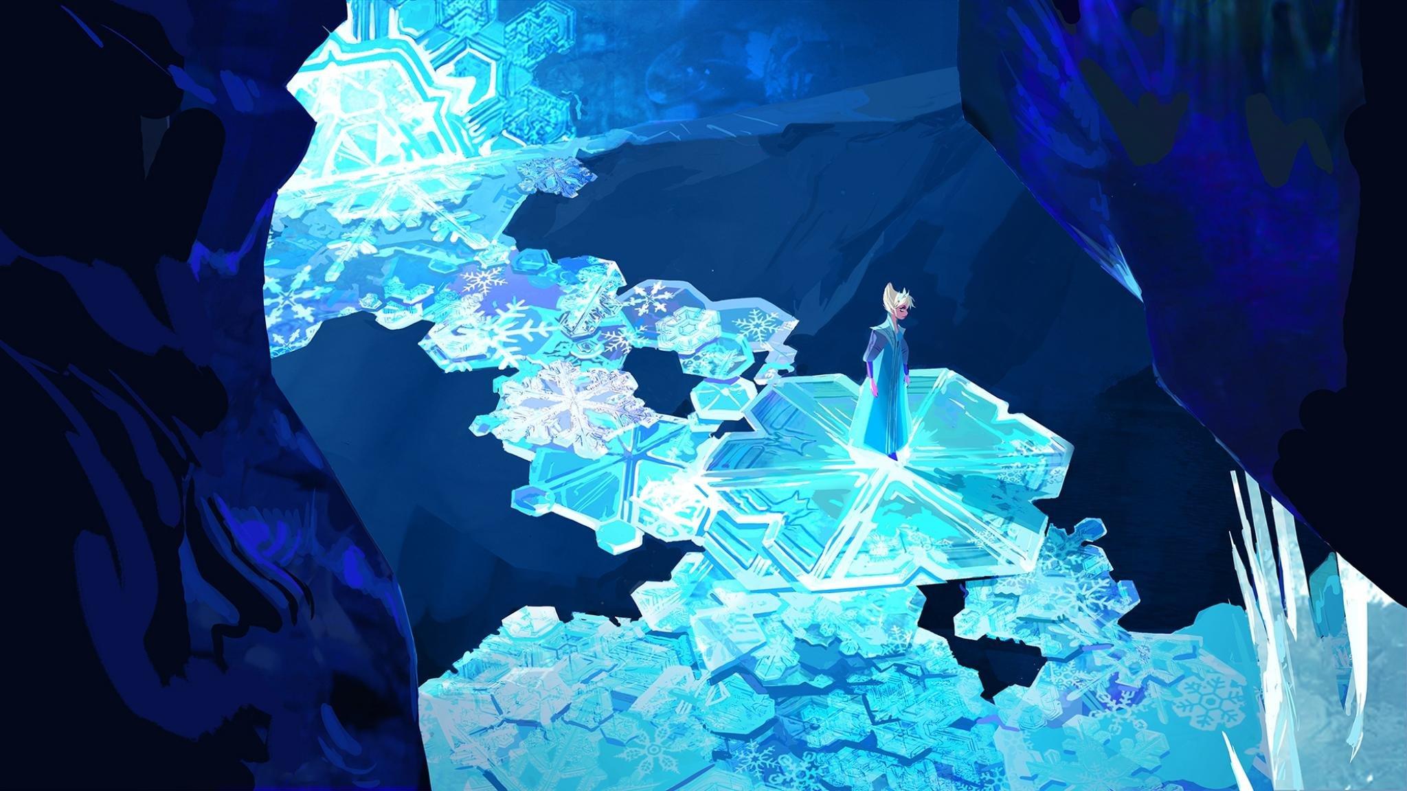 Best Elsa Frozen Wallpaper Id380113 For High Resolution Hd 2048x1152 Desktop