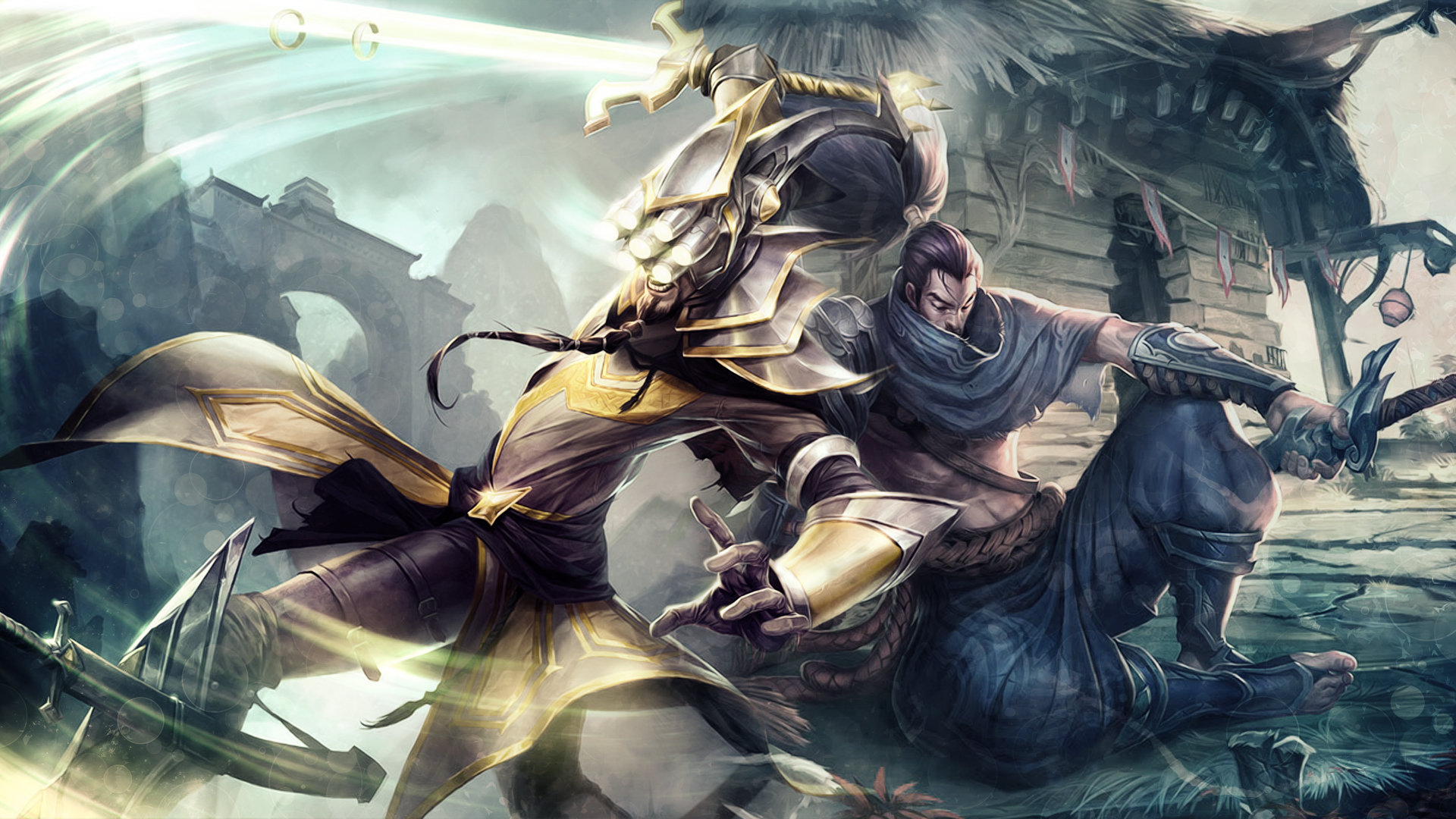 Master Yi League Of Legends Wallpapers Hd For Desktop Backgrounds