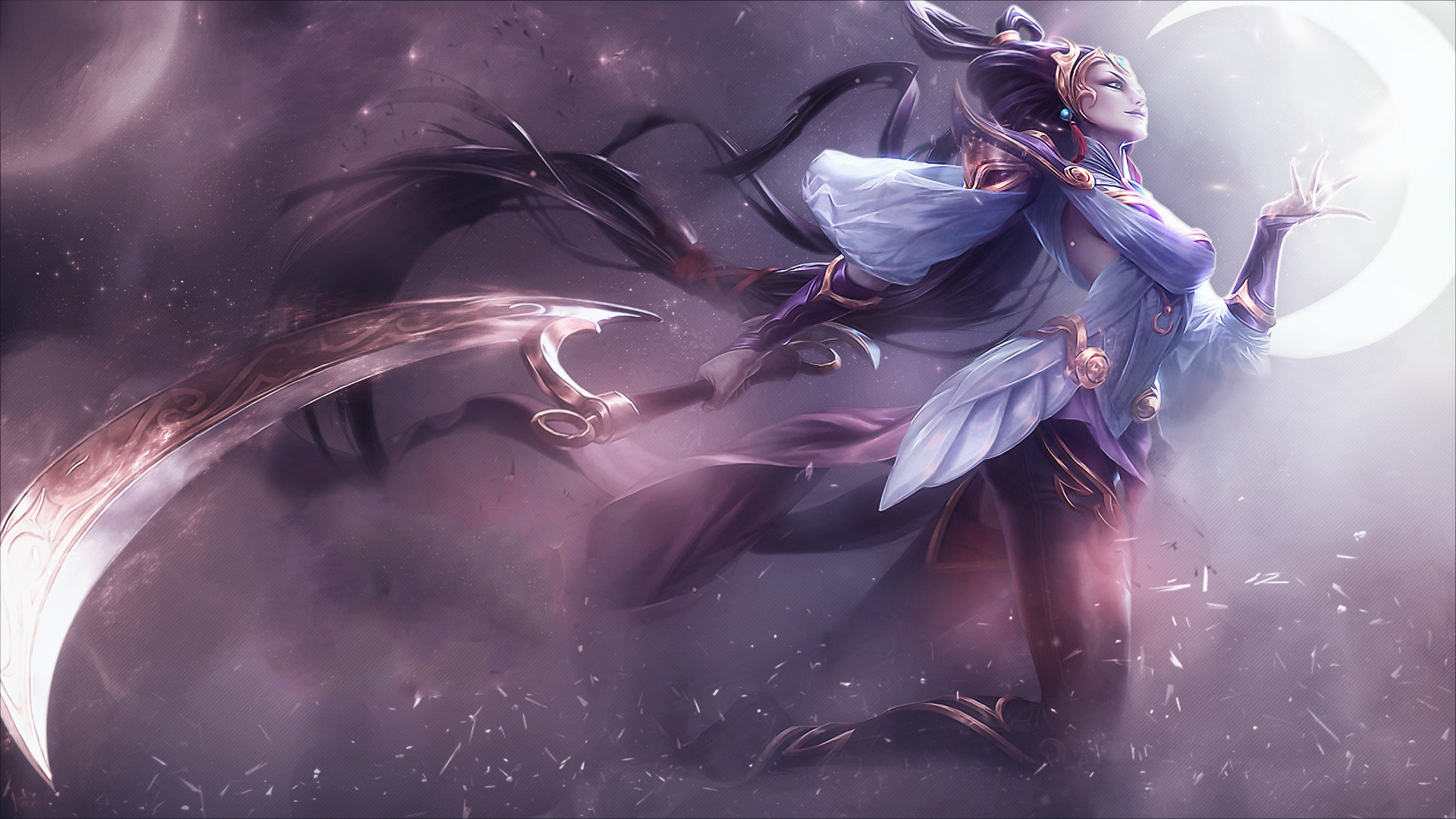 Diana League Of Legends Wallpapers Hd For Desktop Backgrounds