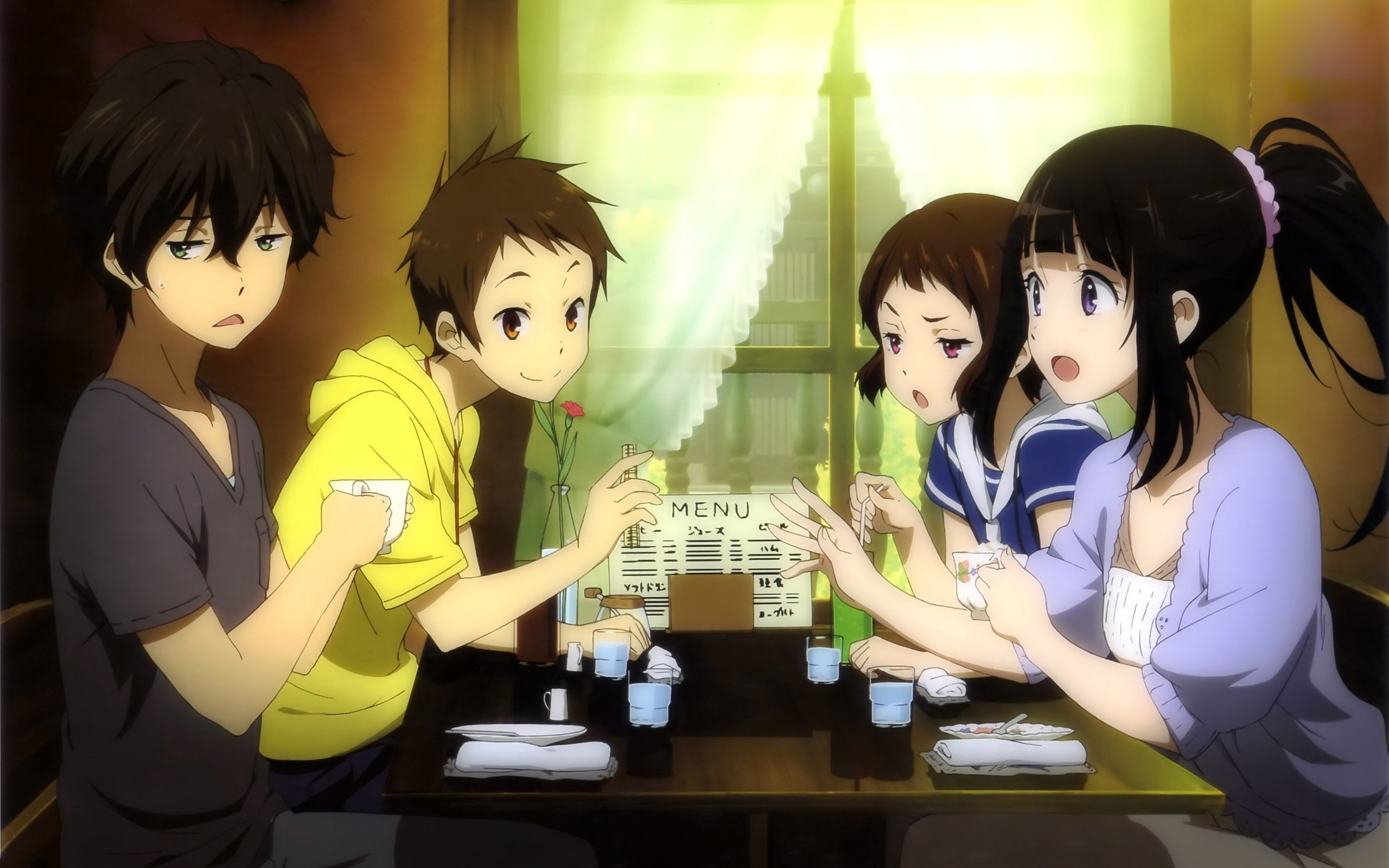 High resolution Hyouka hd 2560x1600 wallpaper ID:137985 for PC