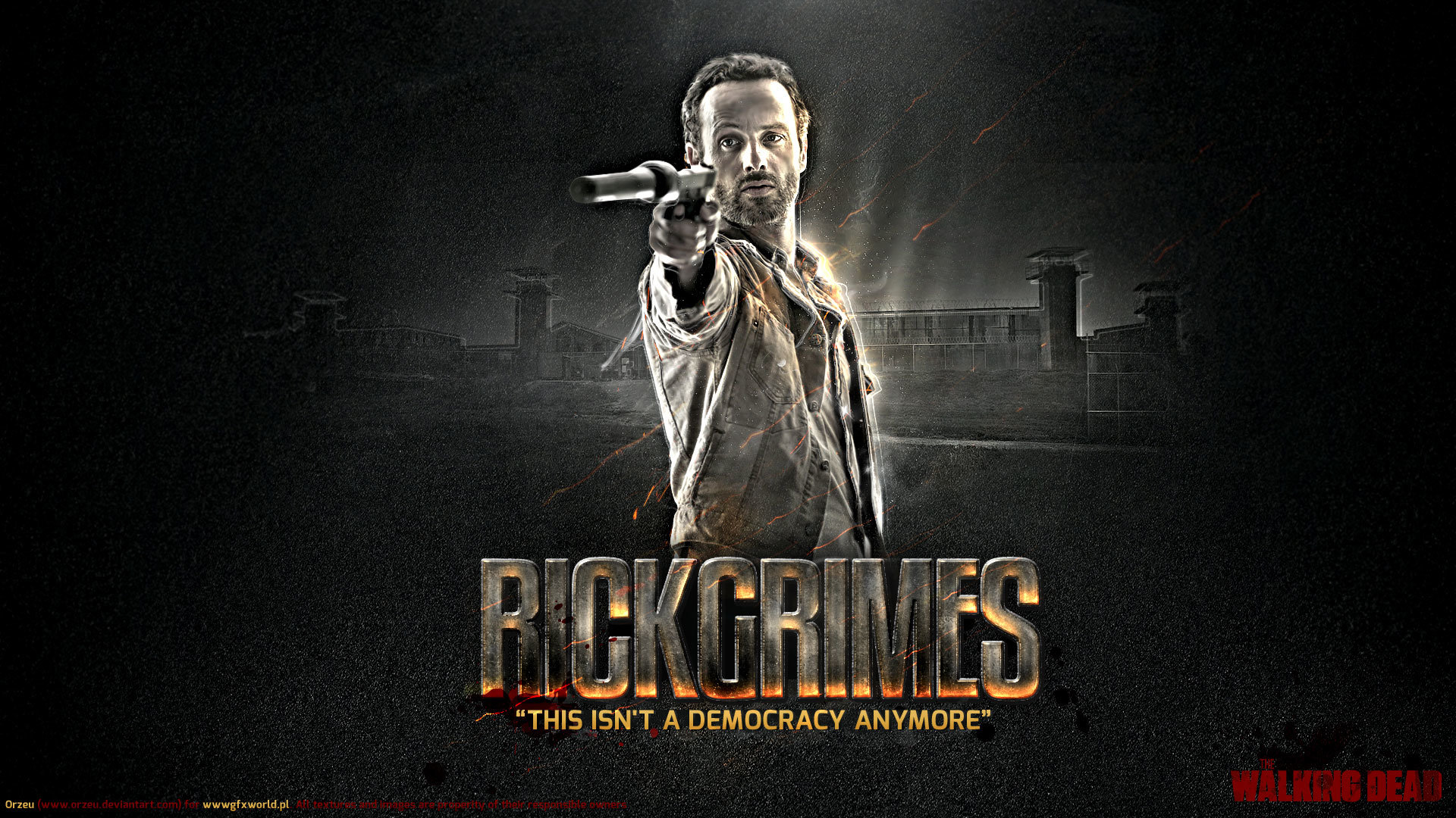Best Rick Grimes Wallpaper ID190206 For High Resolution Full Hd PC