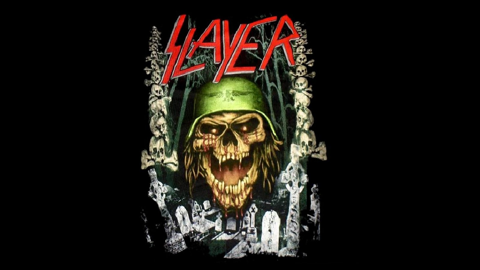 Download hd 1600x900 Slayer computer background ID:246734 for free