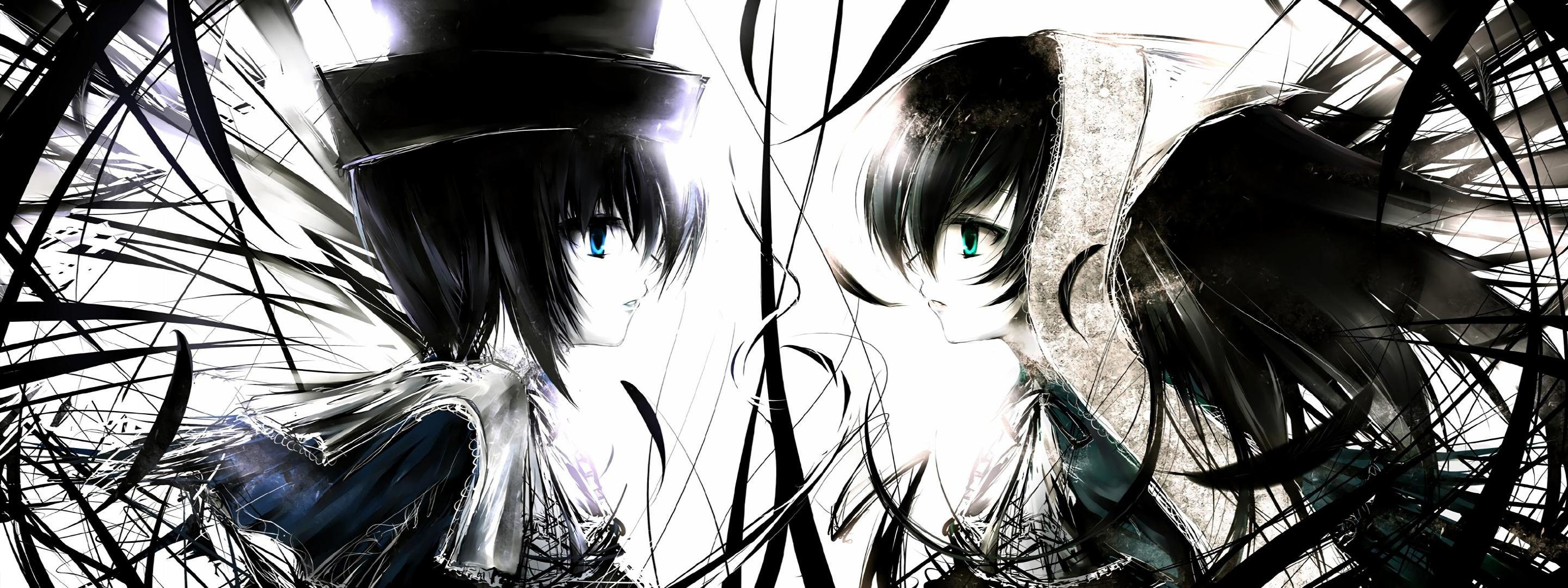 Download dual screen 2880x1080 Suiseiseki (Rozen Maiden) PC background ID:357529 for free