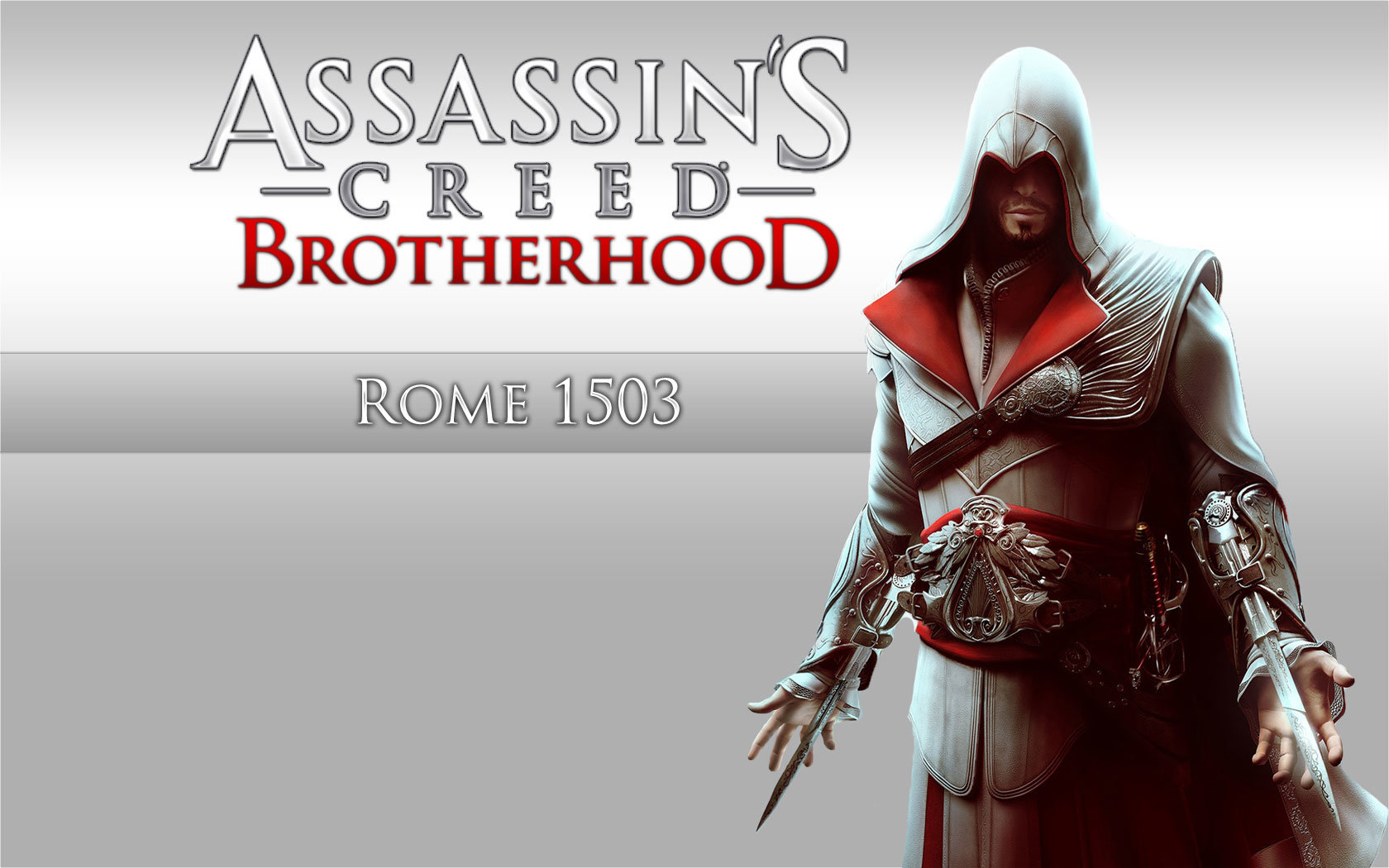Free Assassin's Creed: Brotherhood high quality background ID:452961 for hd 1680x1050 computer