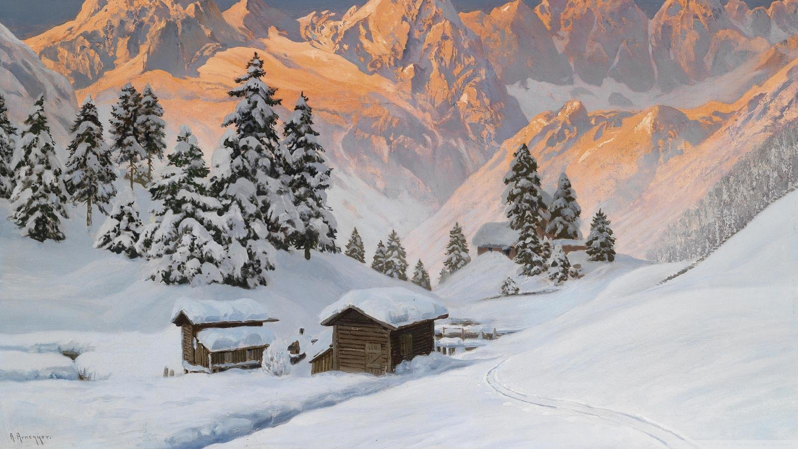Winter Wallpapers 1600x900 Desktop Backgrounds