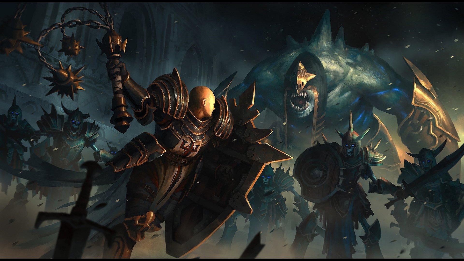 Crusader Diablo 3 Wallpapers 1920x1080 Full Hd 1080p Desktop Backgrounds