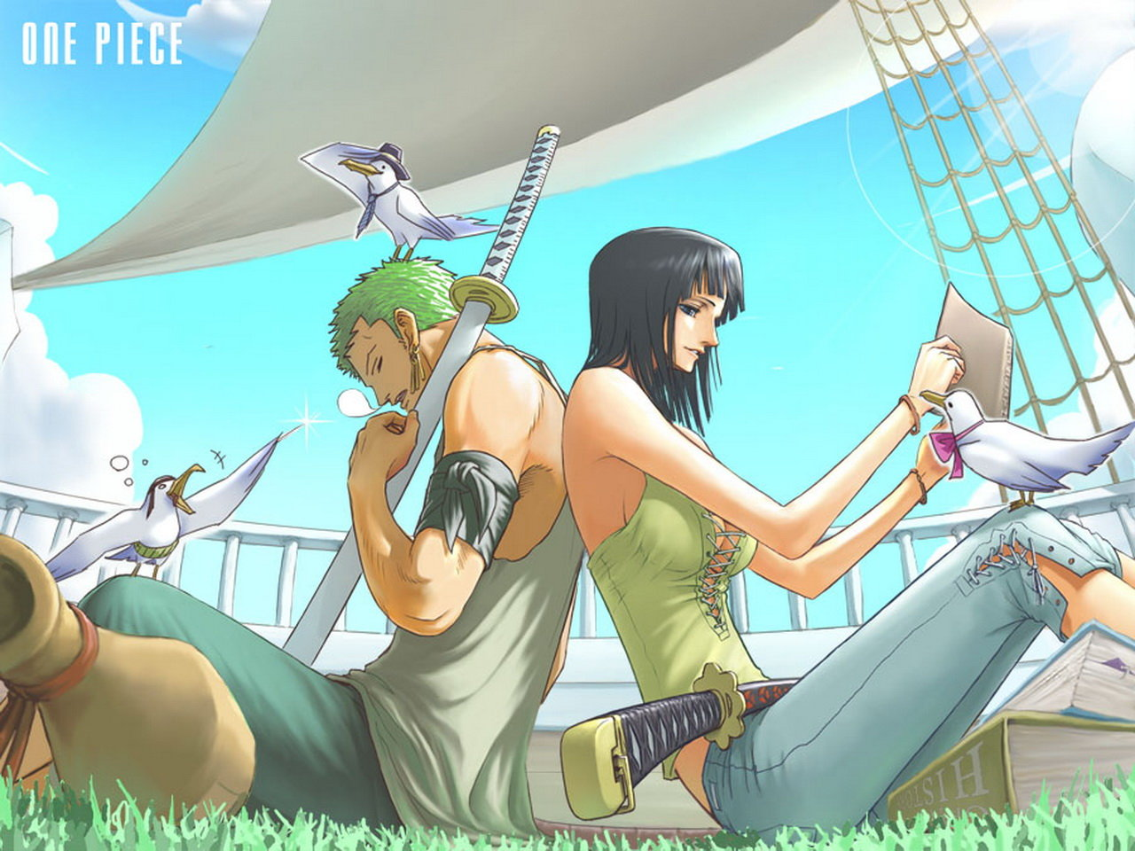 High resolution One Piece hd 1280x960 background ID:313858 for PC