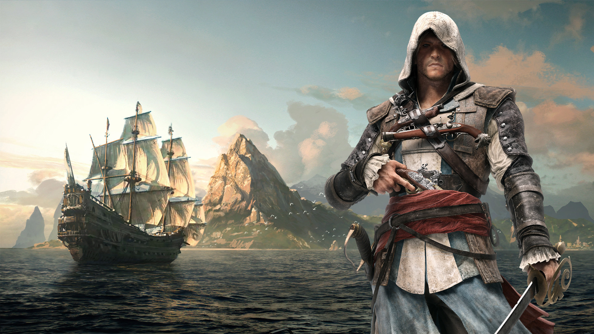 Awesome Assassin's Creed 4: Black Flag free wallpaper ID:234576 for full hd computer