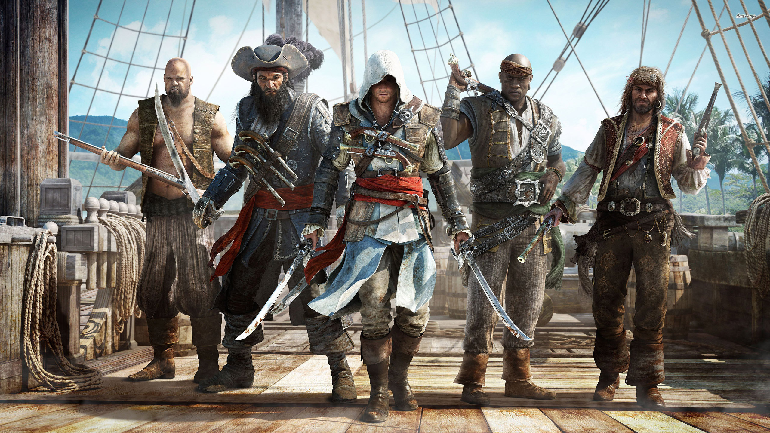 Awesome Assassin's Creed 4: Black Flag free wallpaper ID:234542 for hd 2560x1440 desktop