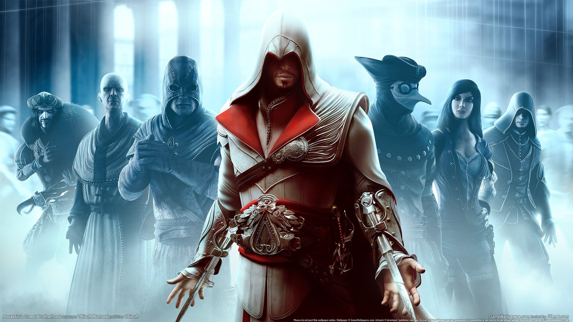 assassin's creed: brotherhood wallpapers hd for desktop backgrounds